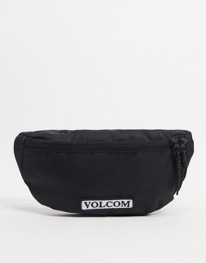 Volcom – Stone Azza – Schwarze Gürteltasche | Taschen > Gürteltaschen | Volcom