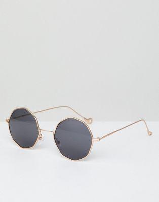 Восьмиугольные солнцезащитные очки AJ Morgan
