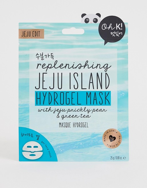 Восстанавливающая гидрогелевая маска Oh K! - Jeju Island