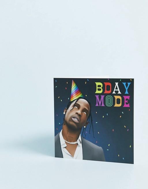 Afbeelding 1 van WACTT - bday mode - Verjaardagskaart