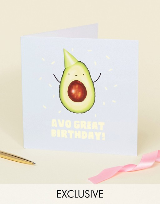 Image 1 sur WACTT - Exclusivité - Avo Great Birthday - Carte d'anniversaire