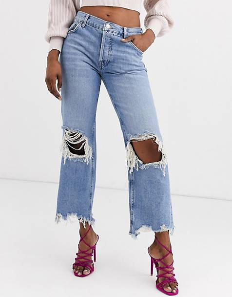We The Free by Free People Maggie rigid denim mom jean