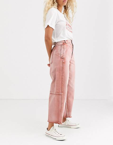 We The Free by Free People Monrow cropped wide leg jeans