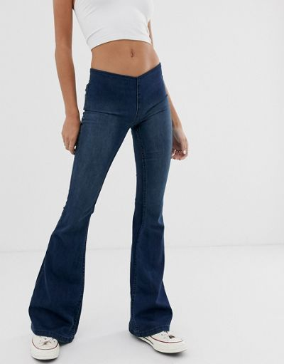 We The Free by Free People Penny pull on flare jean