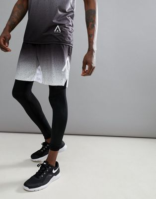 Wear Color Arc Shorts in Black