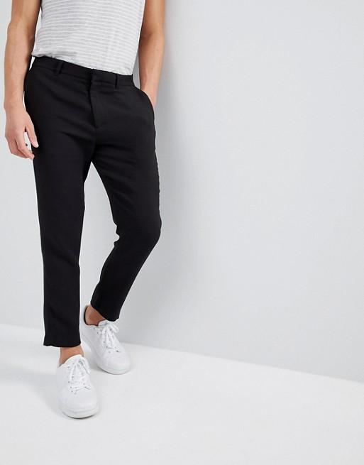 Image 1 sur Weekday - Arvid - Pantalon fuselé - Noir