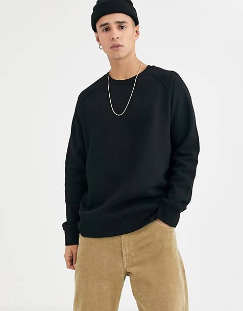 Weekday Black Paris Sweatshirt