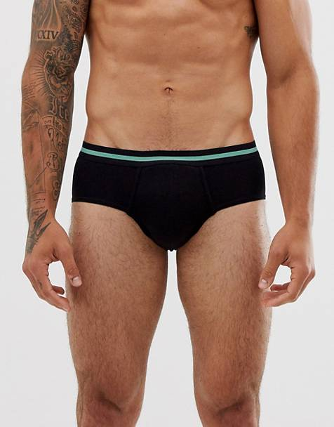 Weekday Bobby briefs in black