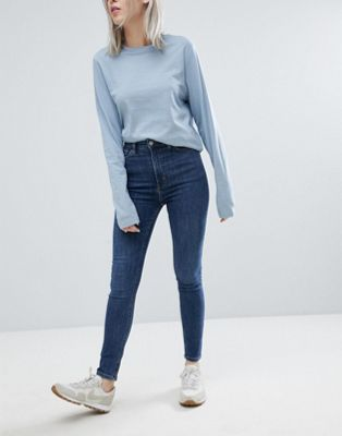 Weekday Body High Waist Superstretch Skinny Jean