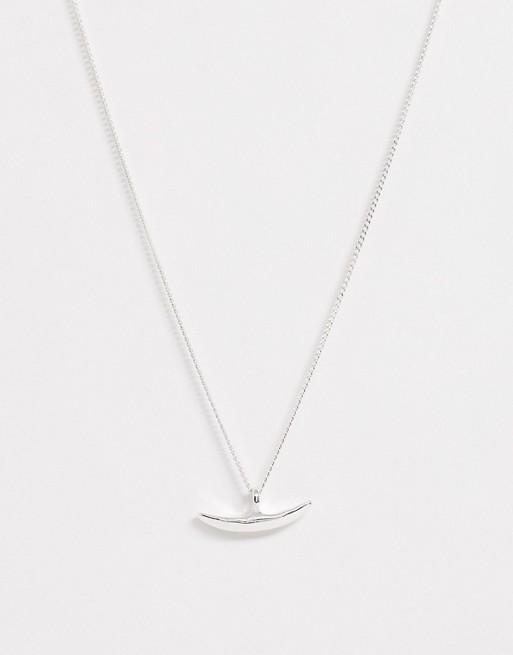 Weekday - Cleo - Sølvfarvet halskæde