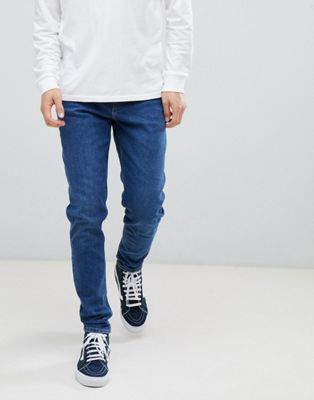 Weekday cone straight jeans gene blue
