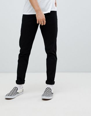 Weekday cone straight jeans stay black
