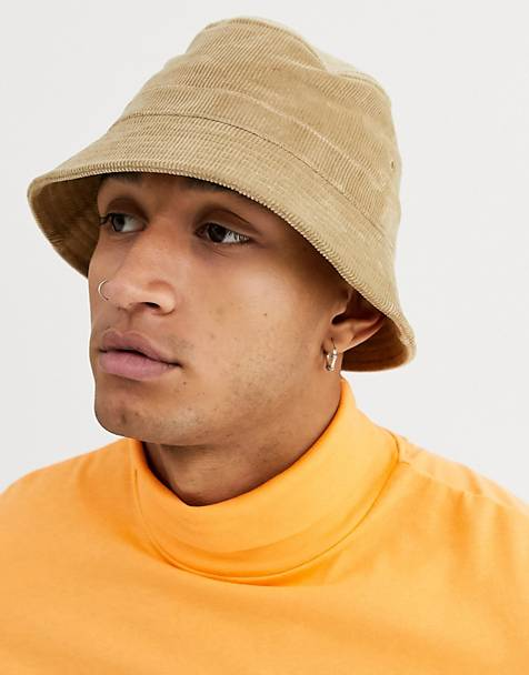 Weekday cord bucket hat in beige