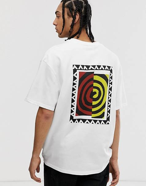 Weekday Great t-shirt with swirl print