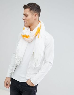 Weekday - Human - Limited edition sjaal met tekst