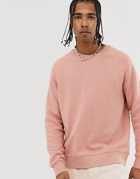 Weekday Paris sweatshirt in pink