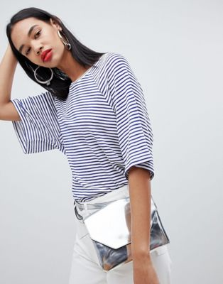 Weekday Textured Stripe T-Shirt