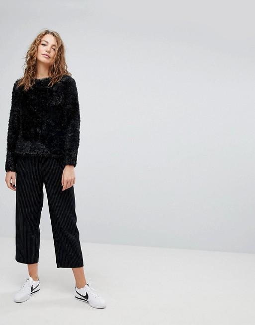 Image 1 of Weekday Wool Pinstripe Pants