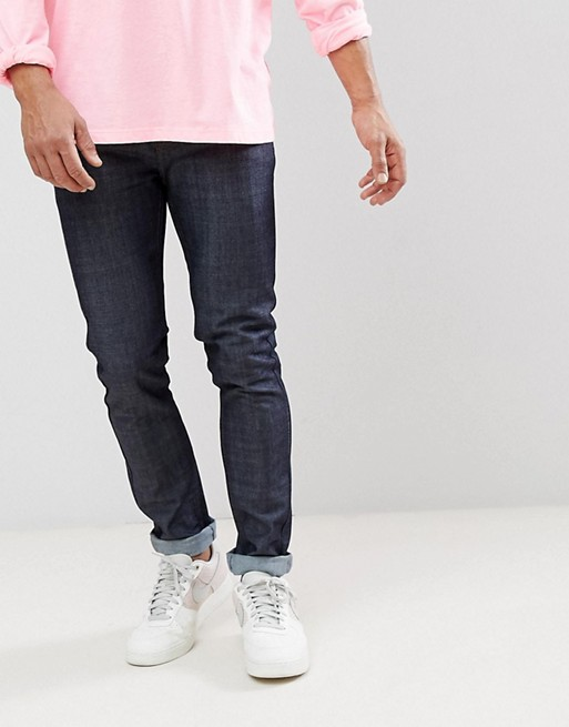 WeSC Alessandro Slim Fit Jeans in Raw Denim