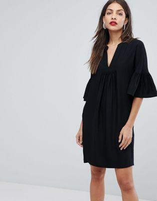 Whistles Flute Sleeve Dress
