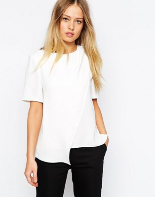 Image 1 of Whistles Overlay Asymmetric Top