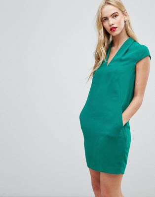 Whistles Paige Crepe Shift Dress