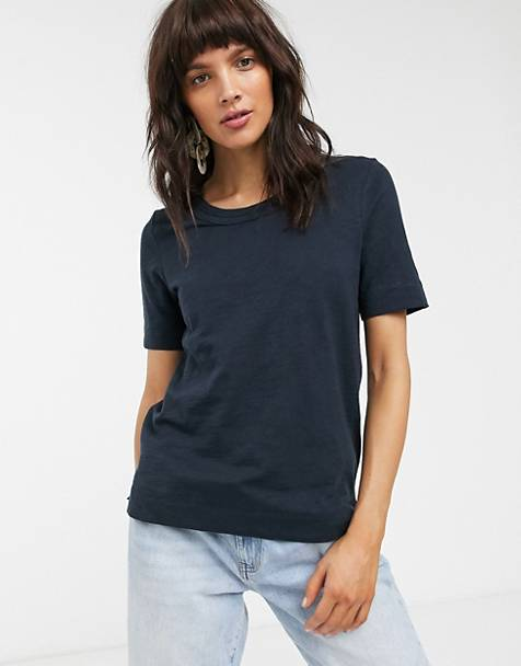 Whistles - Rosa - T-shirt à bordure double