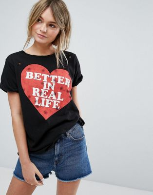 Wildfox Better in Real Life T-shirt