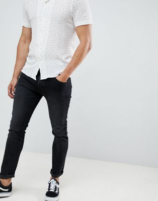 Wrangler – Larston – Schmale, eng zulaufende Jeans