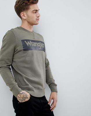 Wrangler - Sweat-shirt ras de cou avec logo