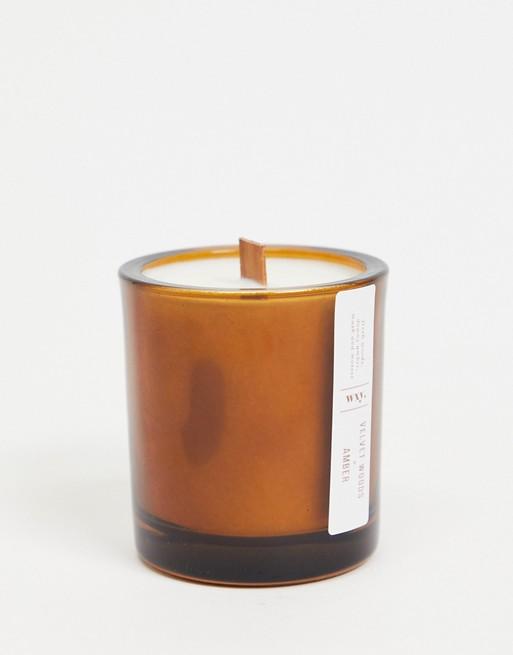 WXY. - Mini Amber - Stearinlys med blød duft af træ og rav - 150 g