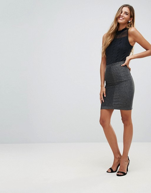 8feb44c20a Y.A.S Ciroli Mid Waist Pencil Skirt | ASOS