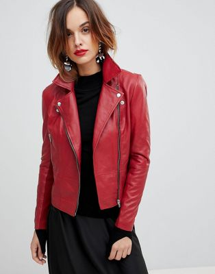 Y.A.S Leather Biker Jacket
