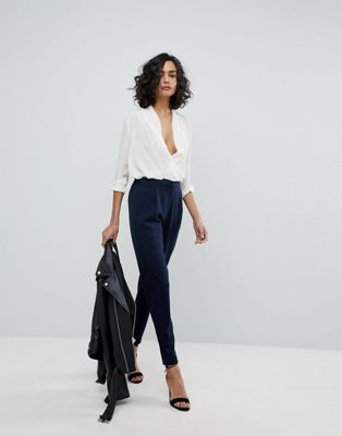 Y.A.S Tailored Trouser With Elasticated Waist