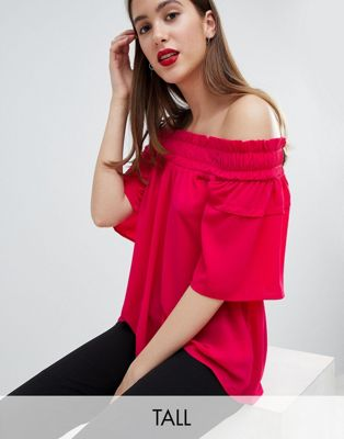 Y.A.S Tall Fraya Off The Shoulder Top