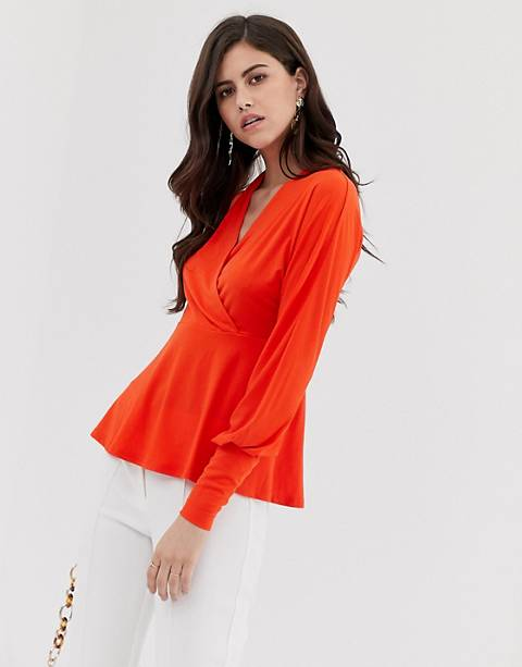Y.A.S V Neck wrap Top