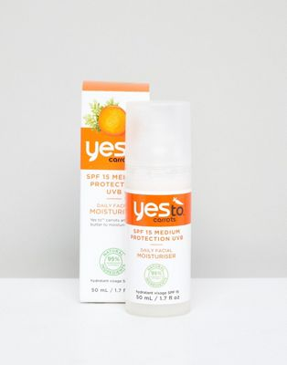 Yes To Carrots - Hydratant visage quotidien IP 15 50 ml