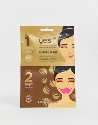 Image 1 of Yes To Coconut 2 Step Lip Kit