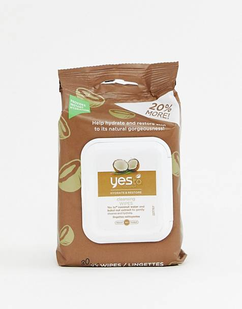 Yes To Coconut Moisturizing Facial Wipes 30ct