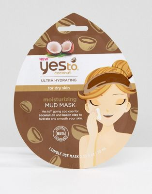 Image 1 of Yes To Coconut Ultra Hydrating Moisturizing Mud Mask