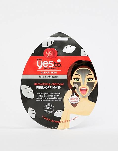 Yes To Detoxifying Charcoal Peel-Off Mask (Single Use)