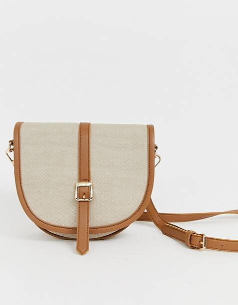 Yoki Contrast Saddle Bag