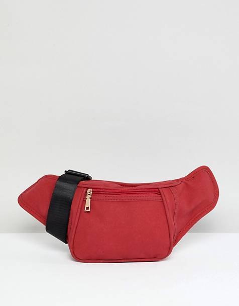 YOKI FASHION suedette Fanny Pack