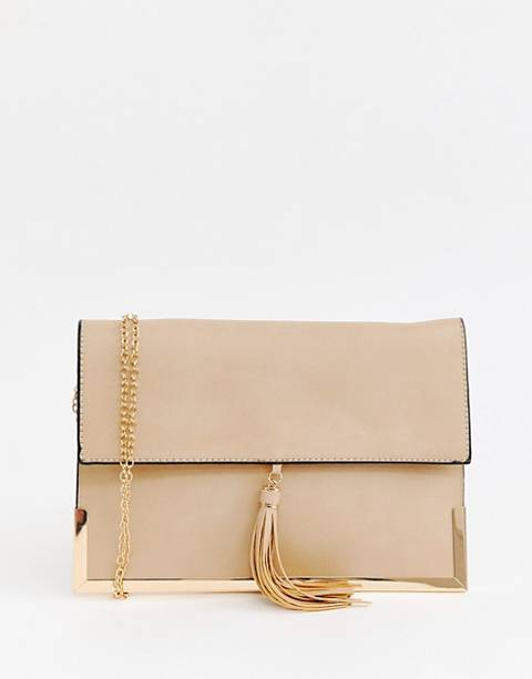 Yoki tassel mini cross body bag