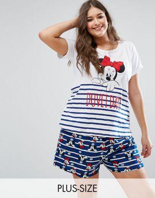 Yours Clothing Minnie Pajama Set