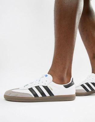 Zapatillas de deporte blancas Samba OG B75806 de adidas Originals