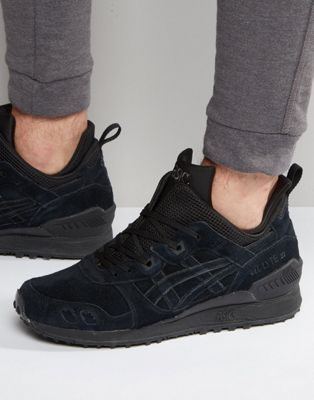 Zapatillas de deporte negras Gel-Lyte MT de Asics