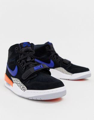 Zapatillas de deporte negras Jordan Legacy 312 de Nike