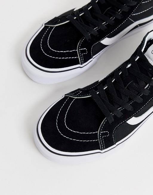 Zapatillas de deporte negras Sk8 Mid de Vans | ASOS