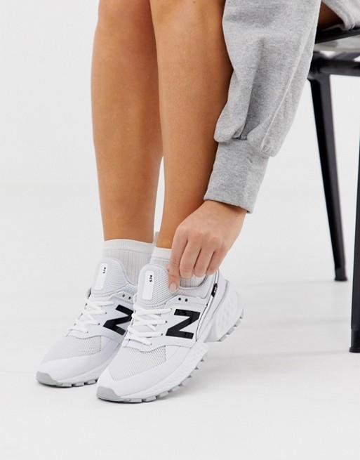 Zapatillas en triple blanco 574 Sport V2 de New Balance